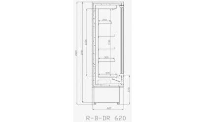чертеж холодильной горки R-B-DR