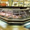 Угловая холодильная витрина Modena в супермаркете