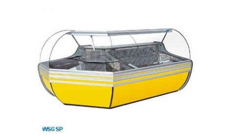 угловая холодильная витрина w-sgs-nz