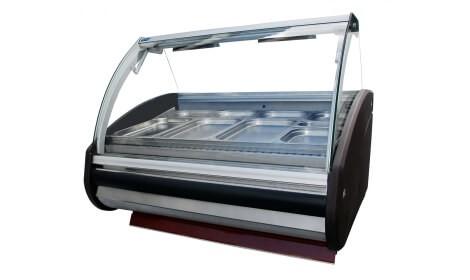 Тепловая витрина MODENA/W-PVP-k нагреваемая (+30°C + 60°C) Cold