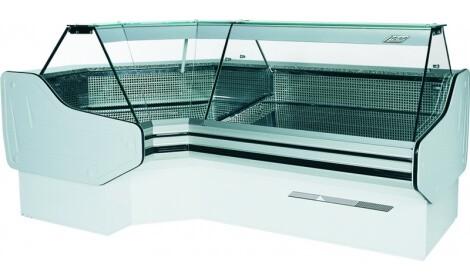 Угловая холодильная витрина BRAGA-NW/NZ (серия W-S NW/NZ) Cold