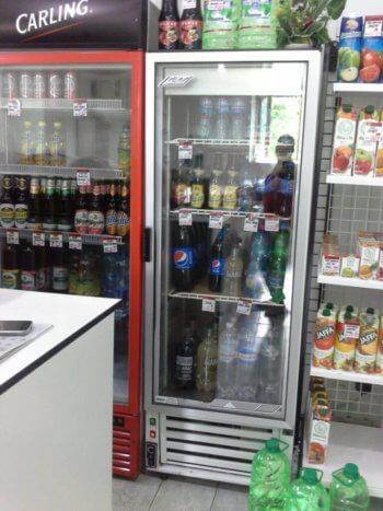 холодильный шкаф Cold со стеклянной дверью