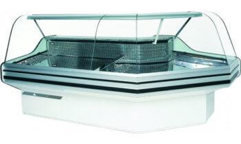 Угловая холодильная витрина BRAGA-SG-NW/NZ