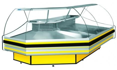 Угловая холодильная витрина HAMBURG NW/NZ Cold