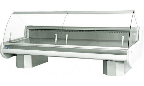 Холодильная витрина MODENA-v-U (серия W-PVU) Cold