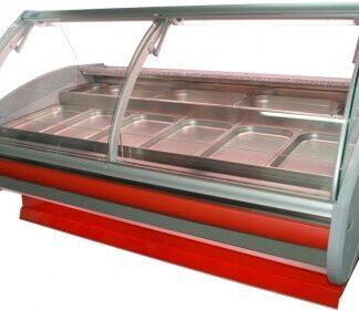 холодильная витрина MODENA-v-k-GN (серия W-PVP-k-GN) Cold