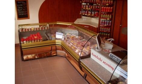 холодильная витрина RODA NW/NZ в магазине