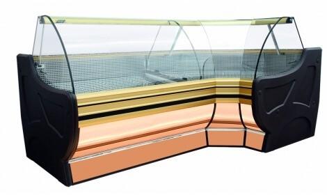 Угловая холодильная витрина RODA NW/NZ Cold