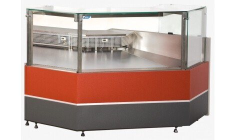 Угловая холодильная витрина VERONA NW/NZ (серия W-PP-k NW/NZ)
