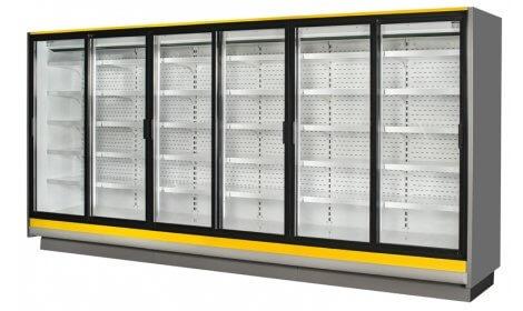 Холодильная горка LISBONA R-PDR/W производства Cold