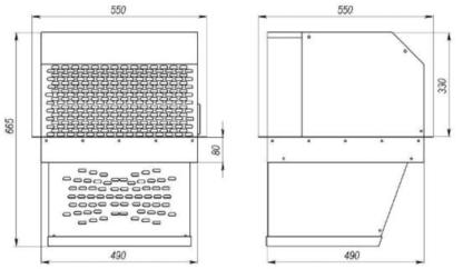 Холодильный моноблок MM 115 ST Полаир