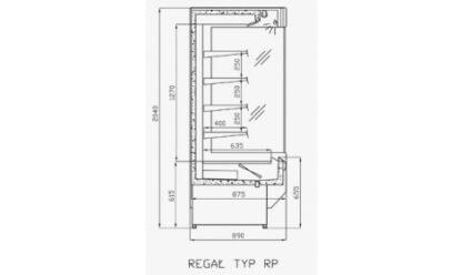 чертеж холодильной горки Praga (R-P)