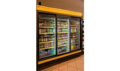 холодильная горка LISBONA/o (R-PDR/o) в магазине 2