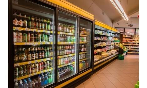холодильная горка LISBONA/o (R-PDR/o) в магазине