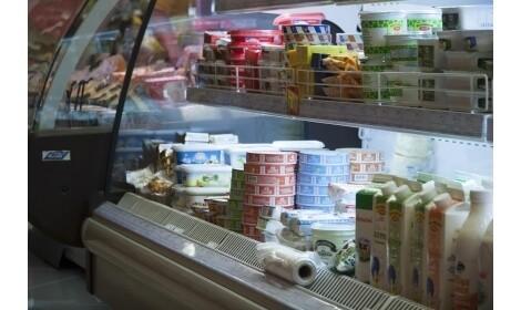 холодильная горка Monza (R-M n/o) в магазине