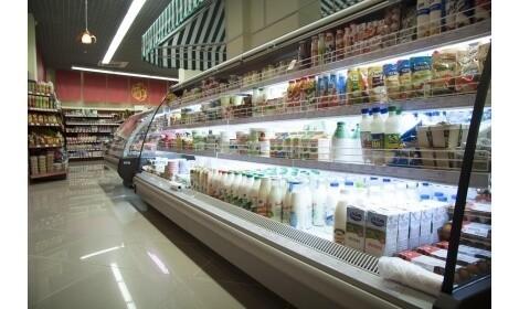 холодильная горка Monza (R-M n/o) в магазине 2