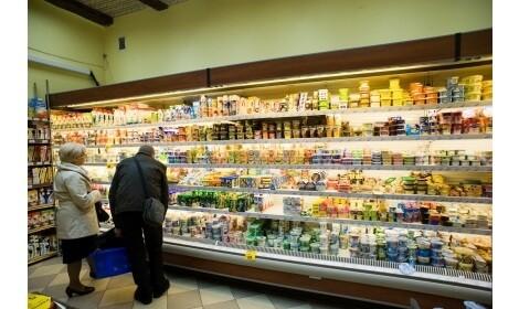 холодильная горка Oxford (R-PS) в магазине