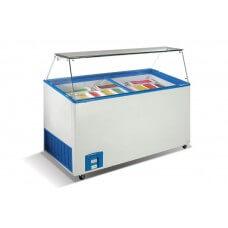 морозильная витрина VENUS 46 Crystal для мягкого мороженого
