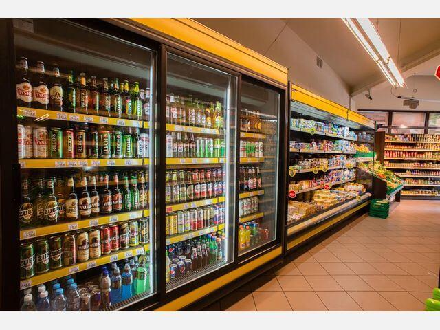 Холодильные шкафы для магазинов