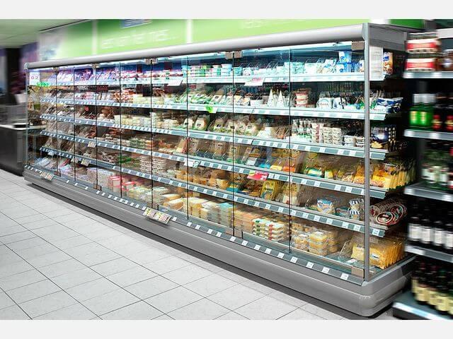 Витрина холодильная вертикальная