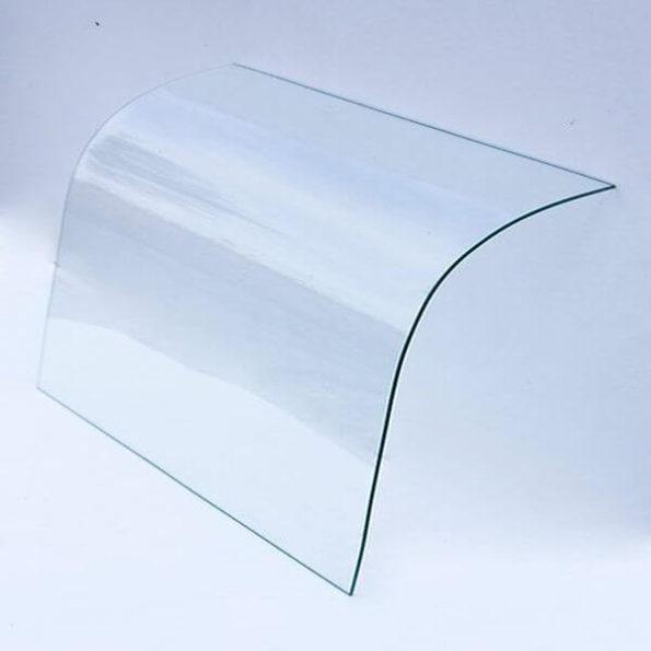 Фронтовое стекло для кондитерской витрины