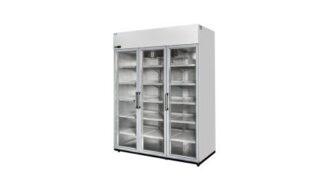 Холодильный шкаф c дверями